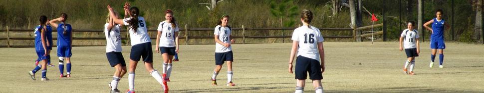 Women soccer celebrate