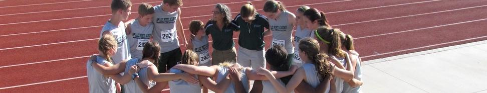 XC prayer huddle banner